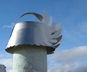 Bird cap, stainless steel
