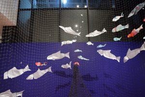 plastic fish oin net