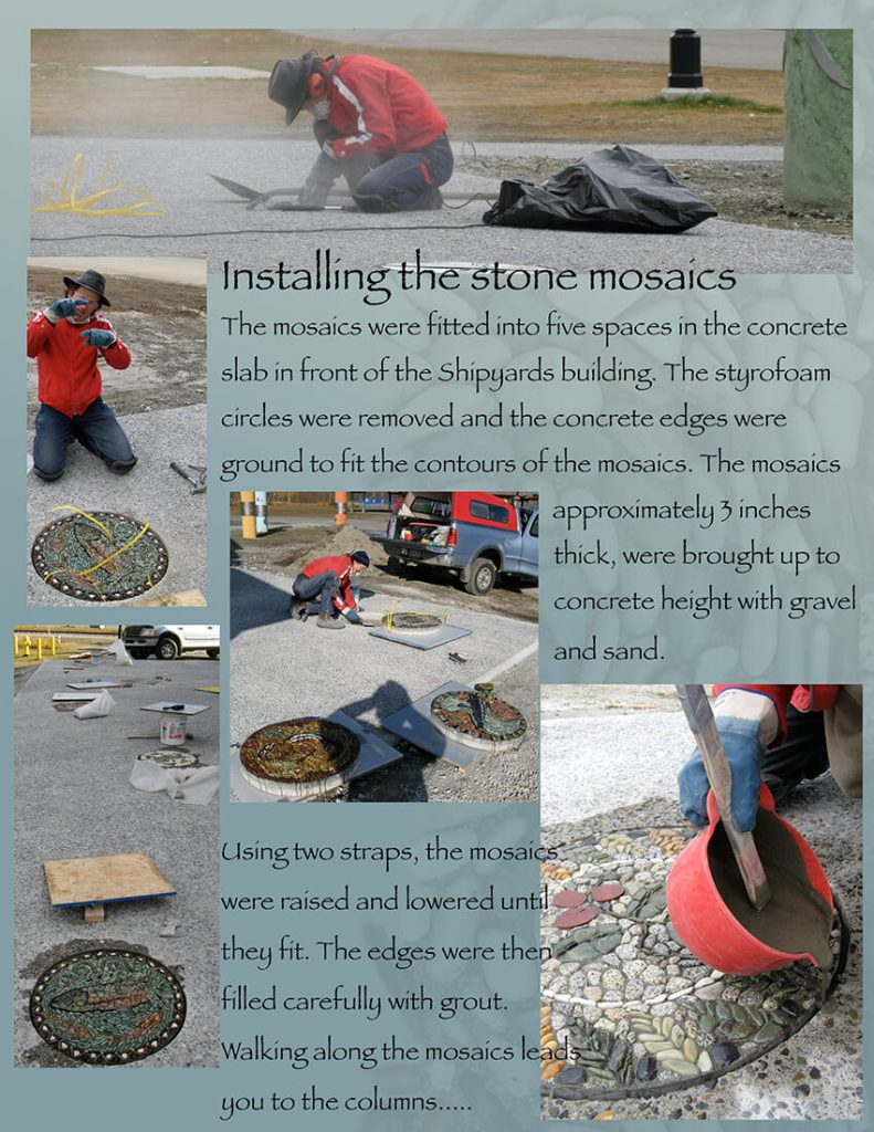 page 10-installing the mosaics